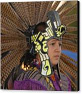 Aztec Dancer Canvas Print