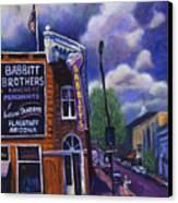 Babbitt Bldg. Canvas Print