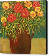 Babette's Bouquet Canvas Print