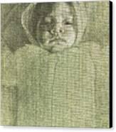 Baby Self Portrait Canvas Print