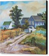 Back Road By The Bay Canvas Print