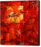 Backwater Reflections Canvas Print