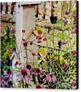 Backyard Condo Canvas Print