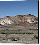 Badlands Canvas Print by Kenneth Hadlock
