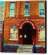 Bagg Street Synagogue Canvas Print