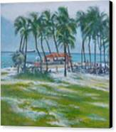 Bahama Beach  Canvas Print