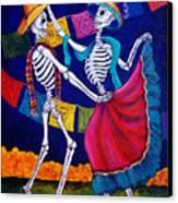 Bailando Canvas Print by Candy Mayer