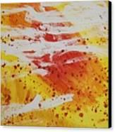 Bailando En El Sol Canvas Print