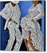 Baile De Figura Canvas Print