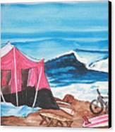 Baja Boogie Canvas Print