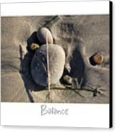 Balance Canvas Print by Peter Tellone