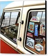 Balboa Bus Canvas Print by Ron Regalado