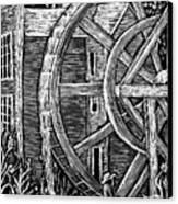 Bale Grist Mill Canvas Print