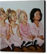 Ballerina Girls Canvas Print