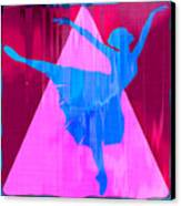Ballet Dancer Canvas Print by David G Paul