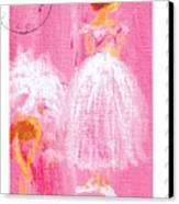 Ballet Sisters 2007 Canvas Print