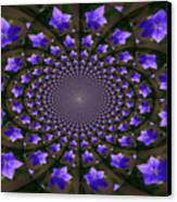 Balloon Flower Kaleidoscope Canvas Print