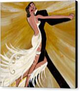 Ballroom Dance Canvas Print