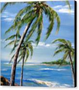 Balmy Breeze Canvas Print