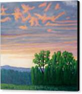 Balsa Road Canvas Print