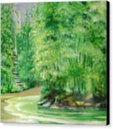 Bamboo Forests 1 Canvas Print