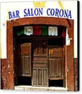Bar Salon Corona Canvas Print