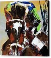 Barbaro Runs Canvas Print