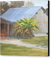 Barberville Barn Canvas Print
