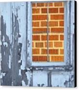 Barn Brick Window Canvas Print