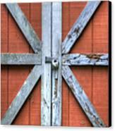 Barn Door 2 Canvas Print by Dustin K Ryan