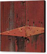 Barn Hinge Canvas Print by Garry Gay