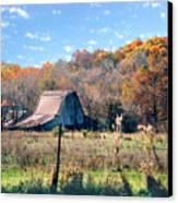Barn In Liberty Mo Canvas Print