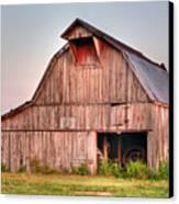 Barn Near Walnut Ridge Arkansas Canvas Print by Douglas Barnett