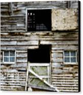 Barn Side Canvas Print