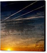 Barnegat Bay Sunset - Jersey Shore Canvas Print