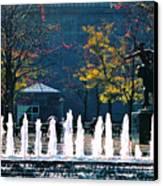 Barney Allis Plaza-kansas City Canvas Print