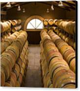 Barrel Room Canvas Print by Eggers Photography