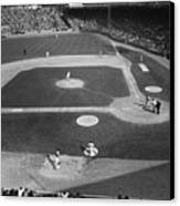 Baseball Game, 1967 Canvas Print by Granger