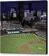 Baseball Target Field  Canvas Print by Paul Plaine
