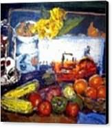 Basics Food Canvas Print