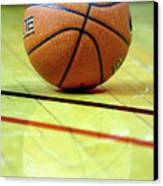 Basketball Reflections Canvas Print by Alan Look