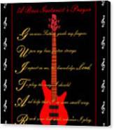 Bass Guitar_2 Canvas Print by Joe Greenidge