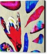 Batik Bouquet Canvas Print