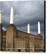 Battersea Power Station, London, Uk Canvas Print by Johnny Greig