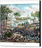 Battle Of Cold Harbor Canvas Print