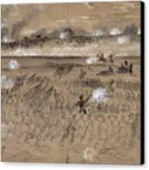 Battle Of Fredericksburg Canvas Print by Granger
