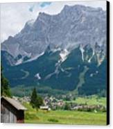 Bavarian Alps Landscape Canvas Print