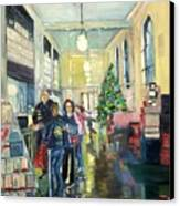 Bay City Post Office Canvas Print by Rosemary Kavanagh