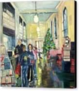 Bay City Post Office Canvas Print