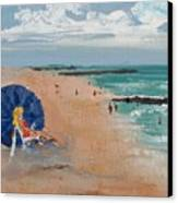 Beach Blond Canvas Print